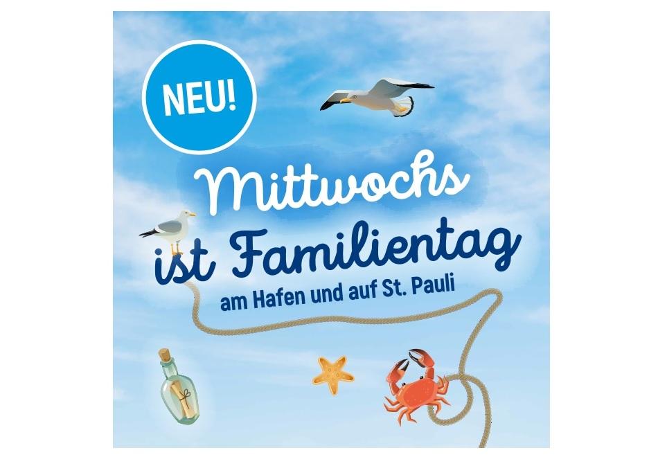 Mittwochs ist Familientag (am Hafen und auf St. Pauli)